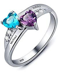 2df6f847e41ae Womens Promise Rings | Amazon.com