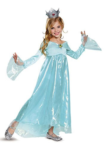 Rosalina Deluxe Costume, Blue, Small (4-6X)