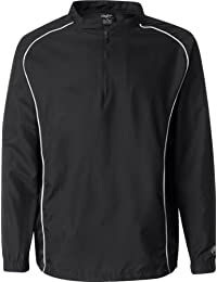 "<span class=""a-offscreen"">[Sponsored]</span>Poly Dobby Quarter-Zip Pullover - 9715"
