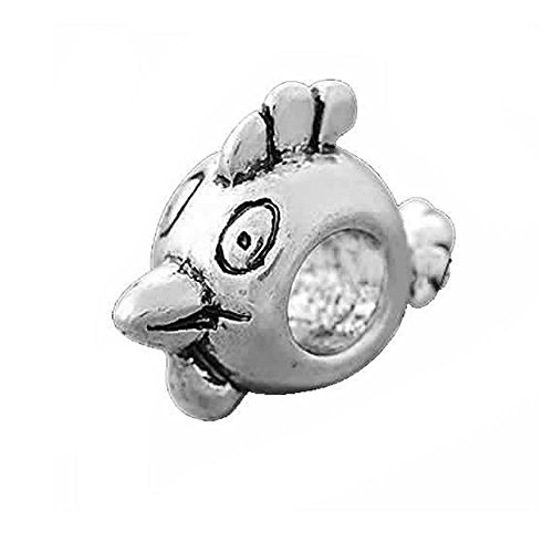 Angry Birds Charm for Snake Chain Charm Bracelet