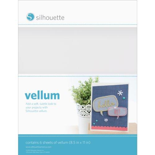 Silhouette Vellum Paper for Scrapbooking