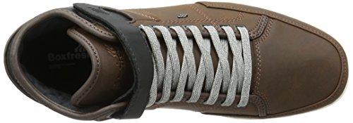 Boxfresh Swich Sh Lea/Pu Tfe/Blk - Zapatillas Hombre marrón (marrón)