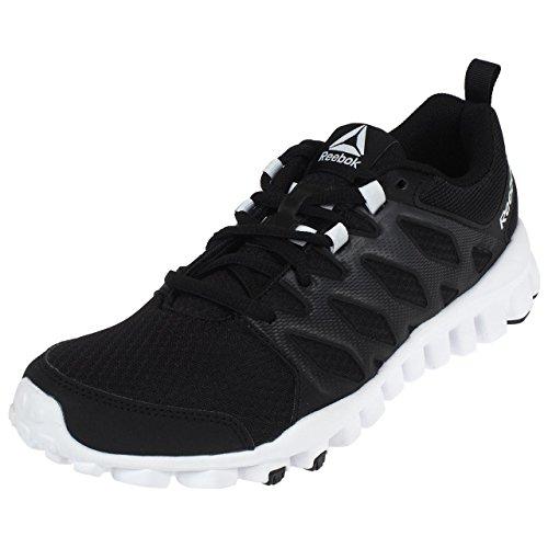 Reebok 4 Black Reaflex Running 0 Noir Chaussures L fqrf56