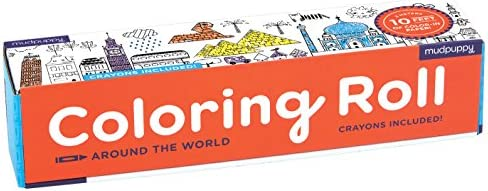 Mudpuppy Galison Around World Coloring product image
