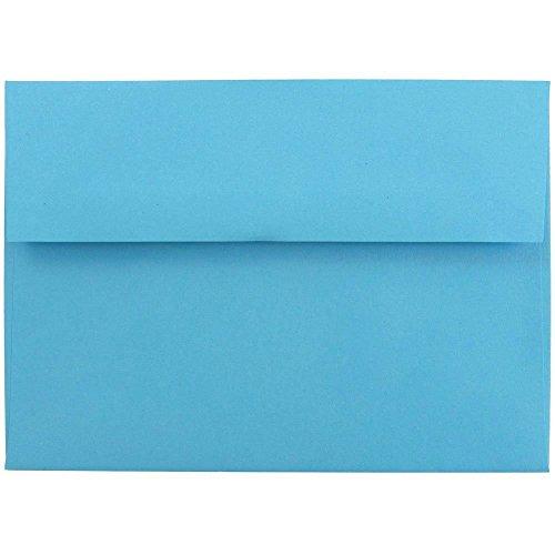 light blue 5x7 envelopes - 7
