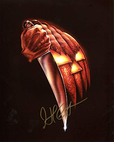 John Carpenter Signed/Autographed Halloween 8x10 Glossy Photo. Includes Fanexpo Fanexpo Certificate of Authenticity and Proof. Entertainment Autograph Original.