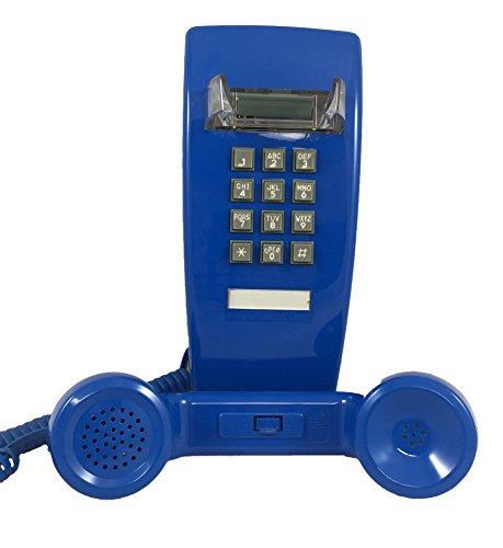 Blue 2554 Wall Telephone - Wall Bell Phone