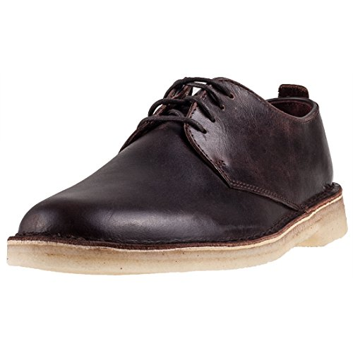 Clarks Originals Desert London Mens Shoes Chestnut - 11 UK (Crepe Sole Shoes)