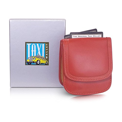 Leather Holder Small Genuine WALLET Tangelo Wallet Slim Compact Card Purse Coin TAXI and q7Ynw7