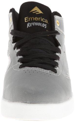 Emerica Emerica Mns The Reynolds - Zapatillas de Deporte de tela hombre gris - Gris (Grey Black)