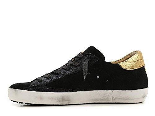 Philippe Model Sneakers Donna CLLDXM45 Pelle Nero/Oro