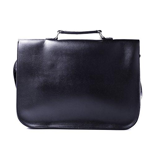 poche rouge impression sac noir tartan avec grand Accessoryo cartable le f6czqgW