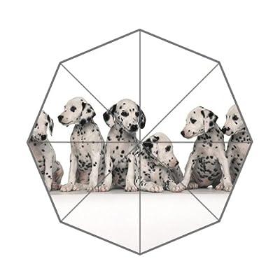 Cute Spotted Chiens Blanc Parapluie pour homme/femme