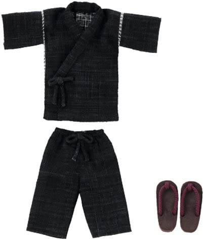 PNXS 甚平セット 黒 ピュアニーモXS ALB172-BLK ドール服