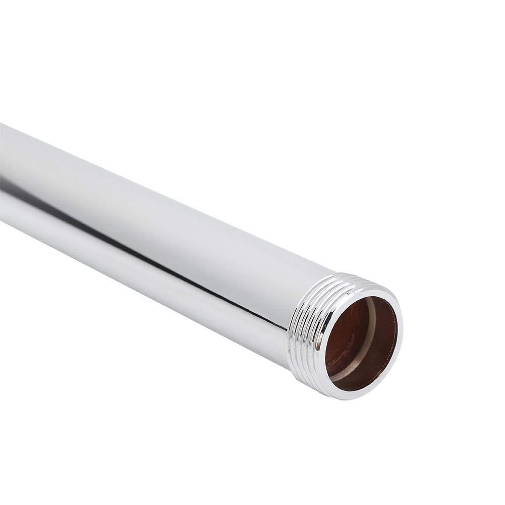 tube droit prolongeant la tige utilisation durable facile /à nettoyer convient au filetage /à six points Tuyau de douche diam/ètre du fil 2,5 cm Tube de rallonge de douche cuivre
