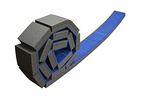 Waldorf Four Light - OFG Rollable Carpet Foam Floor Balance Beam For Beginner Gymnast Practice Training (Blue 8'x4