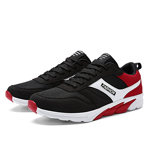 rouge Fzuu Basses Noir Homme Sneakers vPIzqwrvW