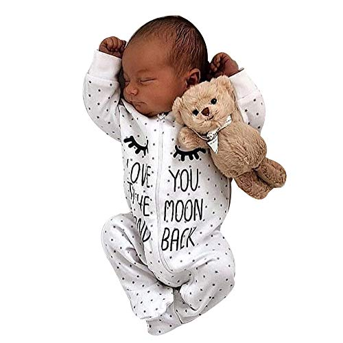 Baby Boy Girl Letter Hooded Romper Jumpsuit Outfits,Newborn