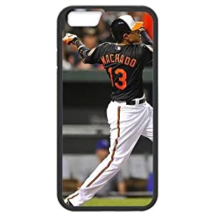 MLB iPhone6 Black Baltimore Orioles cell phone cases&Gift Holiday&Christmas Gifts NBGH6C9124881