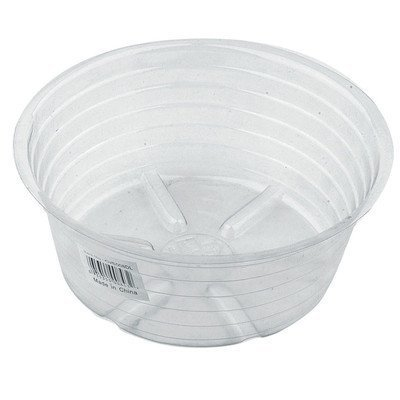 Deep Plastic Saucer (Pack of 25) by Bond Manufacturing by