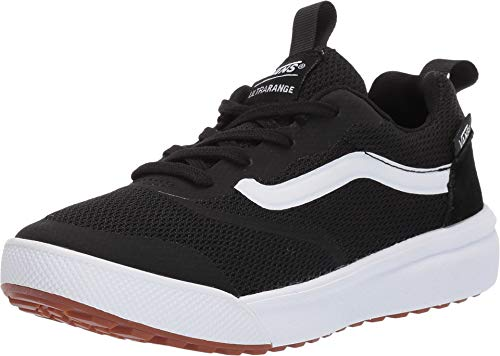 Vans Kids Unisex Ultrarange Rapidweld Sneakers (3 M US Little Kid, Black/True White) ()