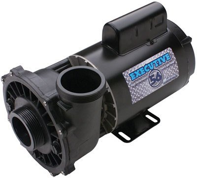 3HP 230V 2-Speed Waterway Spa Pump Side Discharge | 56 Frame Executive | 3721221-1D