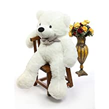 "100CM Teddy Bear White Giant Big Cute Plush (39.3"")"