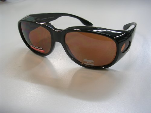 Blue Light Blocker Sunglasses WearOver LARGE PO1- A