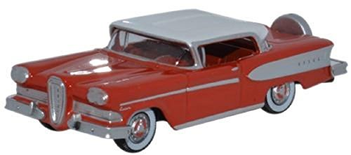 Oxford Diecast 87ED58006 Edsel Citation 1958 Ember Red/Frost 1:87 Scale Diecast