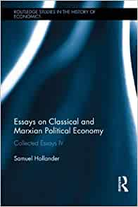 classical and marxian political economy essays