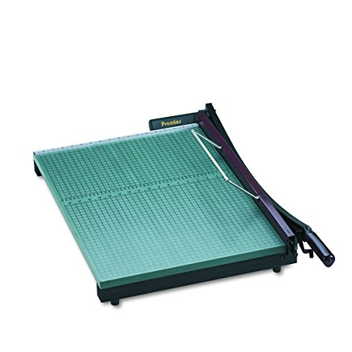 Martin Yale 724 Premier StackCut Heavy-Duty Paper Trimmer, Table Size 18-1/2