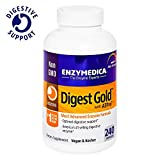Enzymedica – Digest Gold with ATPro, Daily Digestive Support Supplement with Enzymes and ATP, 240 Capsules (FFP)