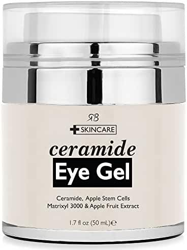 Radha Beauty Ceramide Eye Cream for Puffiness, Dark Circles, Wrinkles and Bags - 1.7 fl oz