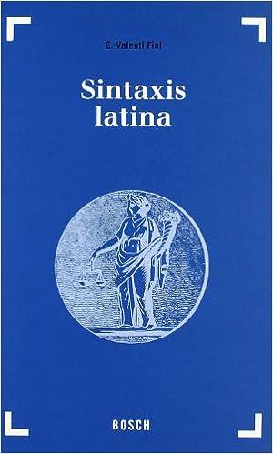 Resultado de imagen de sintaxis latina valentí fiol