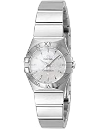 Womens 123.10.24.60.05.001 Constellation Mother-Of-Pearl Dial Watch