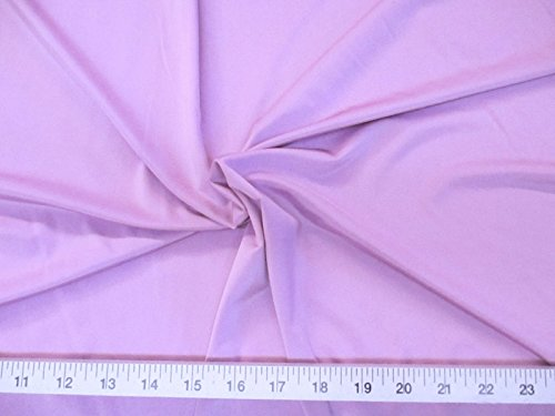 Nylon Lycra Spandex Fabric - Discount Fabric Light Weight Lycra /Spandex 4 way stretch Lilac Purple LY702