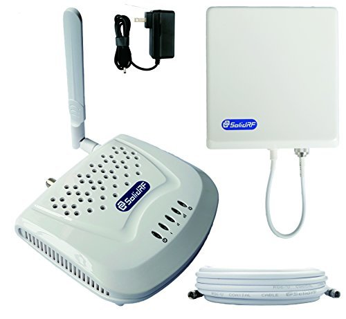 SolidRF SOHO Dual Bands Cell Phone Signal Booster for Home and Office Supports 3G/4G on 850MHz&1900MHz Only by SolidRF