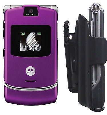 Razor Razr Phone Holster V3 V3c V3M V3I V3R V3T V3X Motorola Case cell Belt clip
