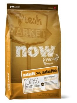 Now! Dry Dog Food, Grain Free Turkey and Duck Formula, Adult, 25-Pound Bag, My Pet Supplies