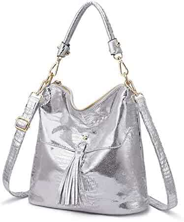 943252d24f61 Shopping Faux Leather or Suede - Silvers - Handbags & Wallets ...