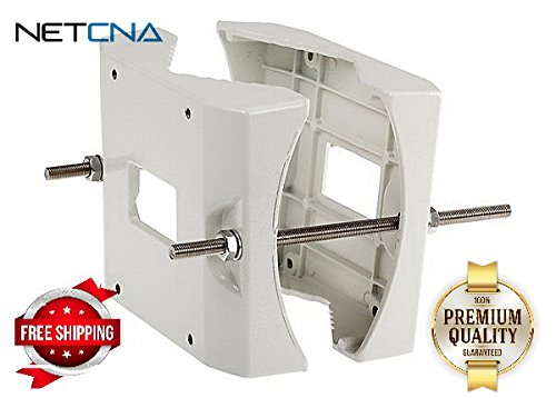 AXIS T95A67 - camera housing pole mounting bracket - By NETCNA