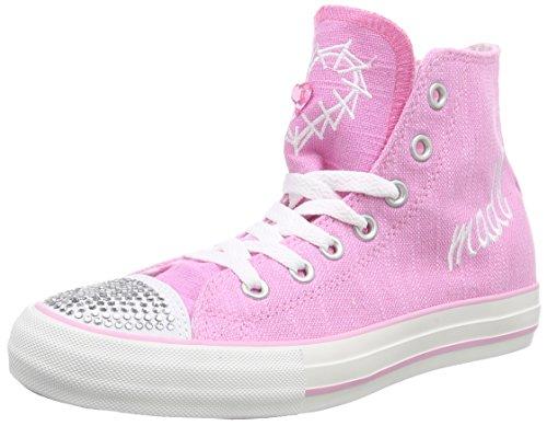 Krüger Madl Glitter Toe-Cap - zapatillas deportivas altas de lona mujer rosa - Pink (pink / 35)