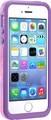 OtterBox SYMMETRY SERIES Case for iPhone 5/5s/SE - Retail Packaging - DREAMY PINK (ORCHID BOUQUET PINK/OPAL PURPLE/DREAMY PINK GRAPHIC)