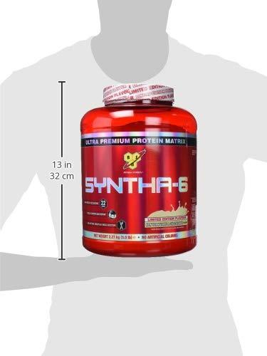 BSN Syntha 6 Proteína en Polvo, Vainilla - 2.27 kg: Amazon.es: Salud y cuidado personal