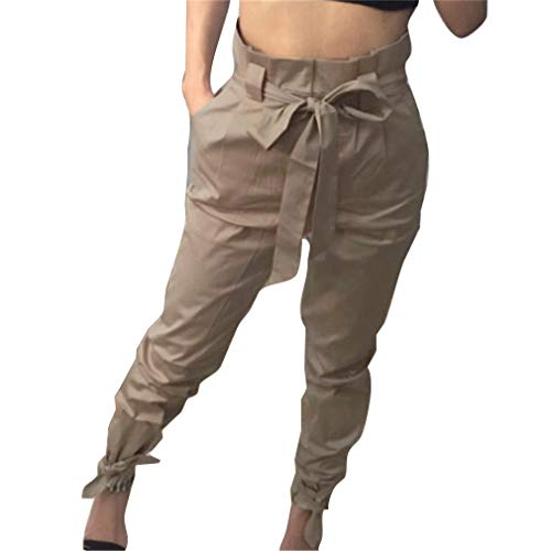 Crayon avec Femme Taille Pantalon Leggings Pieds La Longs Chameau Pantalon Haute Casual Slim de Taille Plus Pantalons Mode lgant Etroits Ceinture vwxSqEAg
