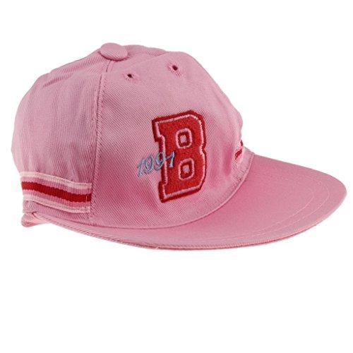 Homyl Handmade Soft Cloth Baseball Cap for 43cm Zapf Doll Dress Up Accessory OOAK Pink