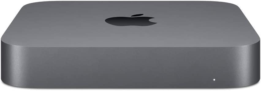 Apple Mac mini (3.0GHz 6-core Intel Core i5 processor, 256GB) - Space Gray (Renewed)