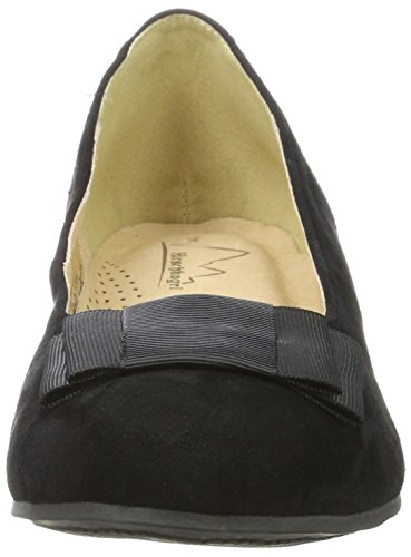 Herten Kogel Dames 1004503 Pumps Black (zwart)