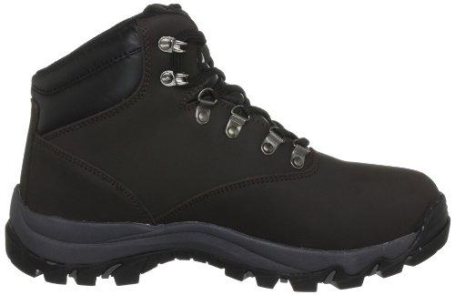 Trespass - Zapatillas de senderismo para hombre Marrón (Brown)