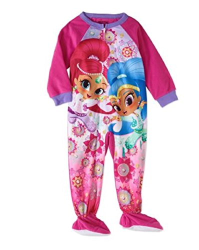 Shimmer & Shine Footed Pajamas Blanket Sleeper - (Footed Pajamas Blanket Sleeper)